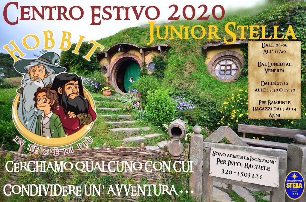 Centro Estivo #Junior Stella 2020#